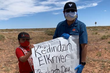The indigenous communities of the Navajo Nation have been hit hard by the advance of the coronavirus