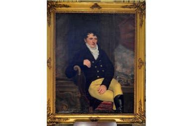 Este cuadro emblemático, atribuido a Casimir Carbonnier, se encuentra en el Museo Dámaso Arce de Olavarría