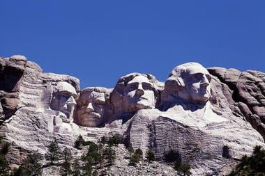 Los cuatro presidentes del Monte Rushmore