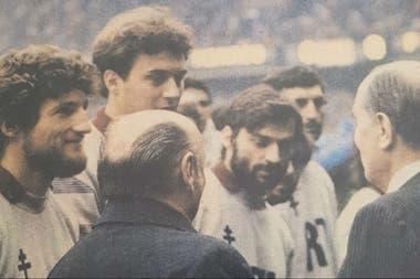 Fernando Zappia ganó la Copa de Francia con Metz en 1984