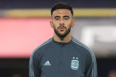 Nicolas Gonzalez en la formación en el estreno como titular ante Paraguay, por las eliminatorias sudamericanas; del sacrificio en las divisiones inferiores en Argentinos Juniors a disfrutar del presente en la selección