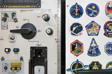 Un distributeur d'eau potable au sein de l'ISS