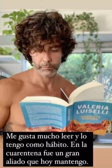 Mariano Martínez habló de su amor por la literatura y contó cuál es su libro favorito