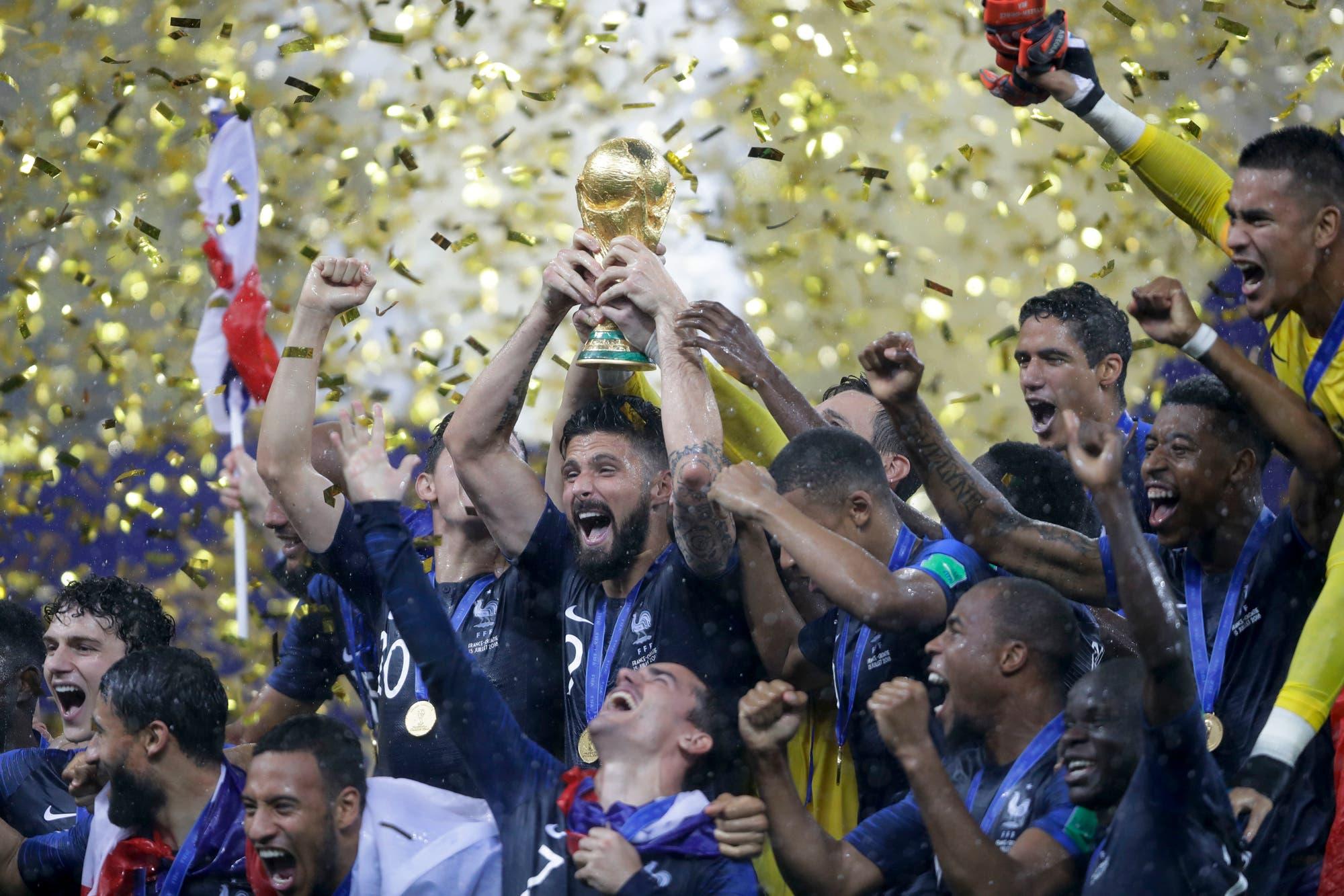 Una final emotiva y un triunfo que le permitió a Francia un segundo viaje a la eternidad