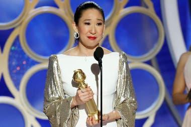 Sandra Oh y una noche para el recuerdo: de anfitriona a galardonada por su protagónico en la serie Killing Eve
