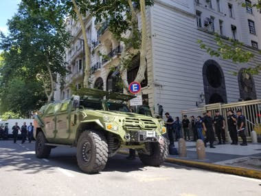 Simulacro de toma de rehenes y atentado en la embajada de Israel