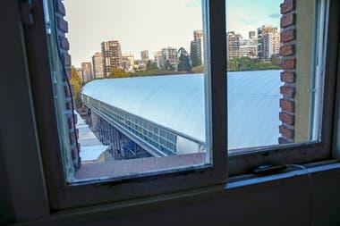 Los departamentos perdieron toda la vista que tenan a las Barrancas de Belgrano