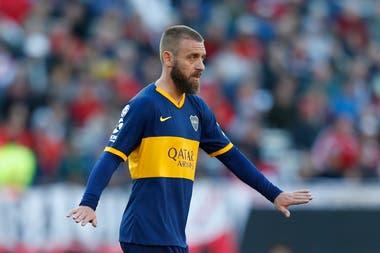 De Rossi no juega desde el superclásico del 1 de septiembre, por la Superliga