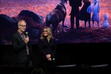 Chris Buck y Jennifer Lee, guionistas y directores de Frozen II