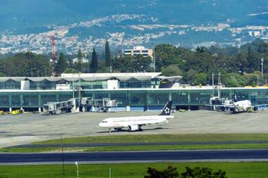 El aeropuerto La Aurora, en la ciudad de Guatemala