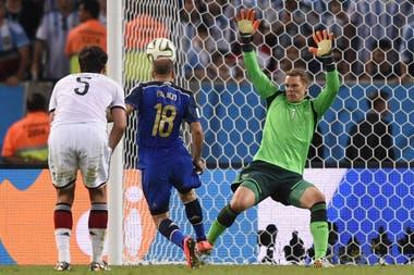 Neuer, invulnerable ante Argentina en la final del Mundial Brasil 2014
