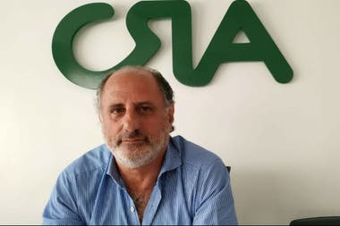 Jorge Chemes, presidente de CRA, que integra la Mesa de Enlace