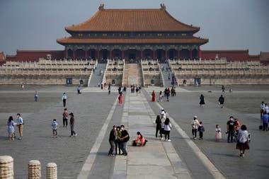 La Ciudad Prohibida de Pekín, permite visitas desde principios de mayo