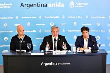 Alberto Fernández anuncia la extensión de la cuarentena