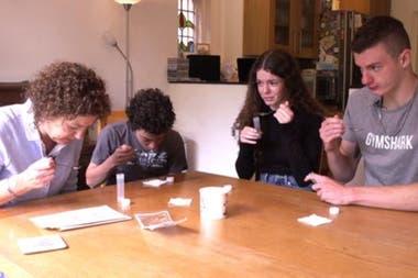 La prueba de saliva puede arrojar resultados más rápidos