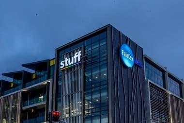 La sede de Stuff en Auckland, Nueva Zelanda