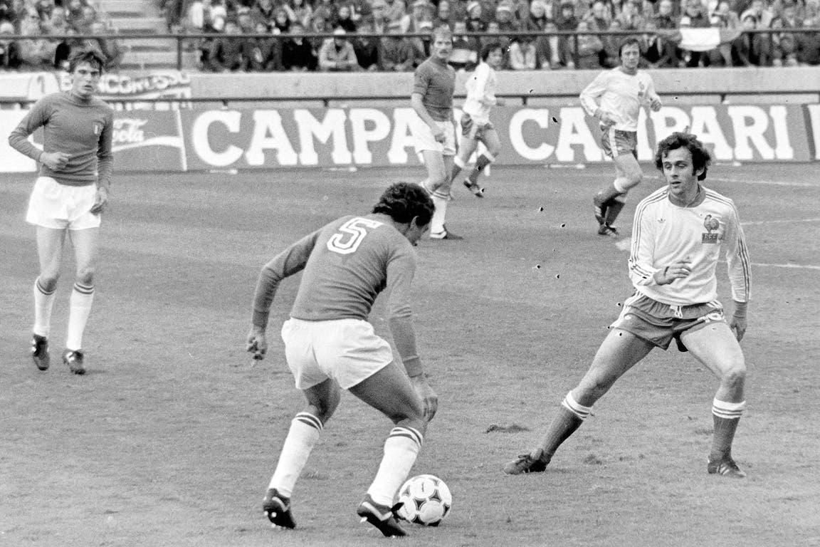 Michel Platini (2 de junio de 1978): los roles se invirtieron en Mar del Plata: el genial francés marca al italiano Claudio Gentile (ganó Italia 2-1); la joven figura gala iba a marcar el gol en la derrota con la Argentina y más tarde ganó tres veces el Balón de Oro, entre 1983 y 1985