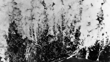Japón fue objetivo de varios bombardeos, pero Kokura también se libró de estos ataques