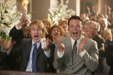 Junto a Vince Vaughn en The Wedding Crashers; tras el éxito de esta comedia reeditaron la dupla en The Intern