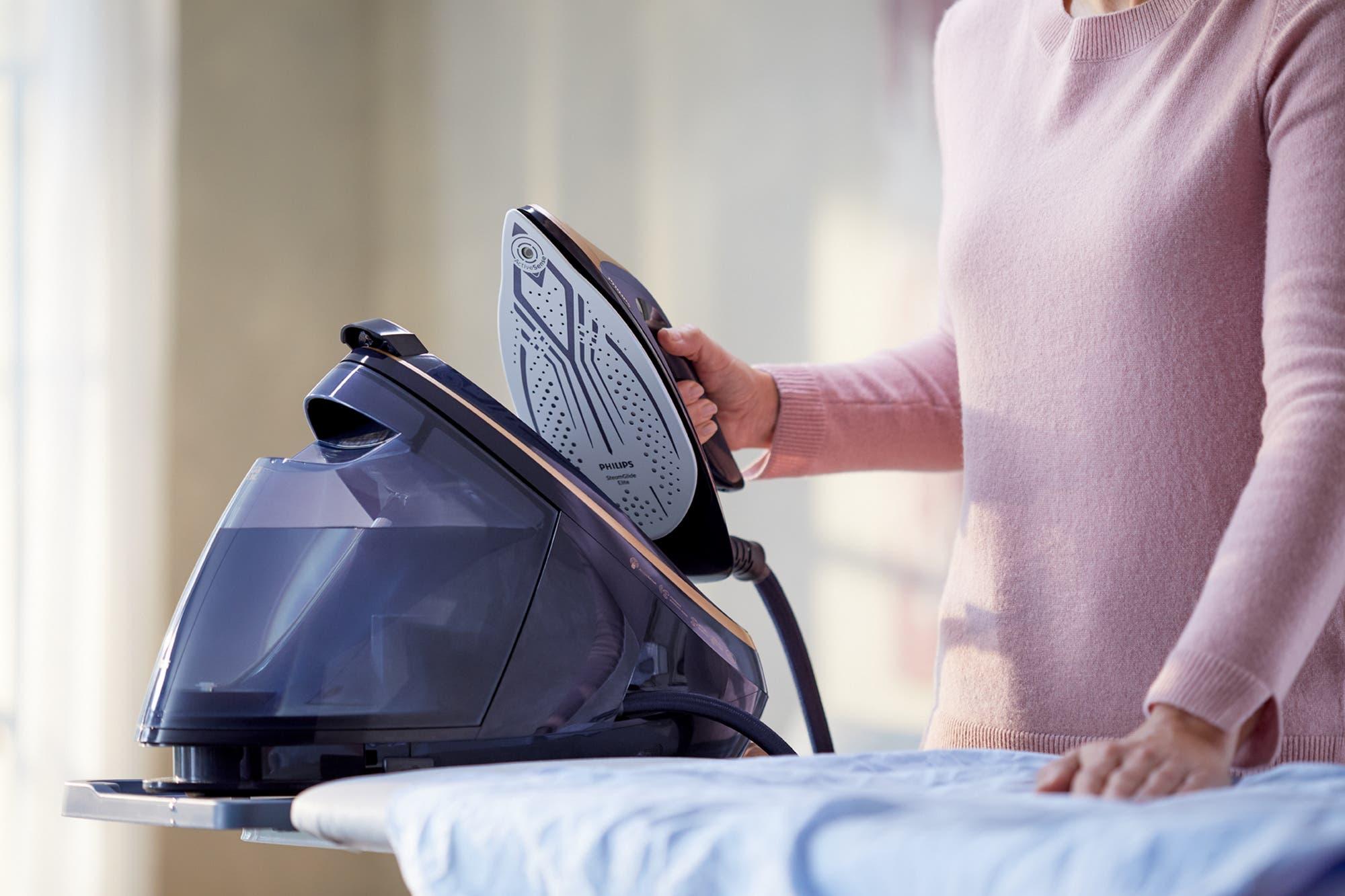 Planchado inteligente: Philips lanza una plancha con cámara que detecta el tipo de tela de una prenda para ajustar su temperatura
