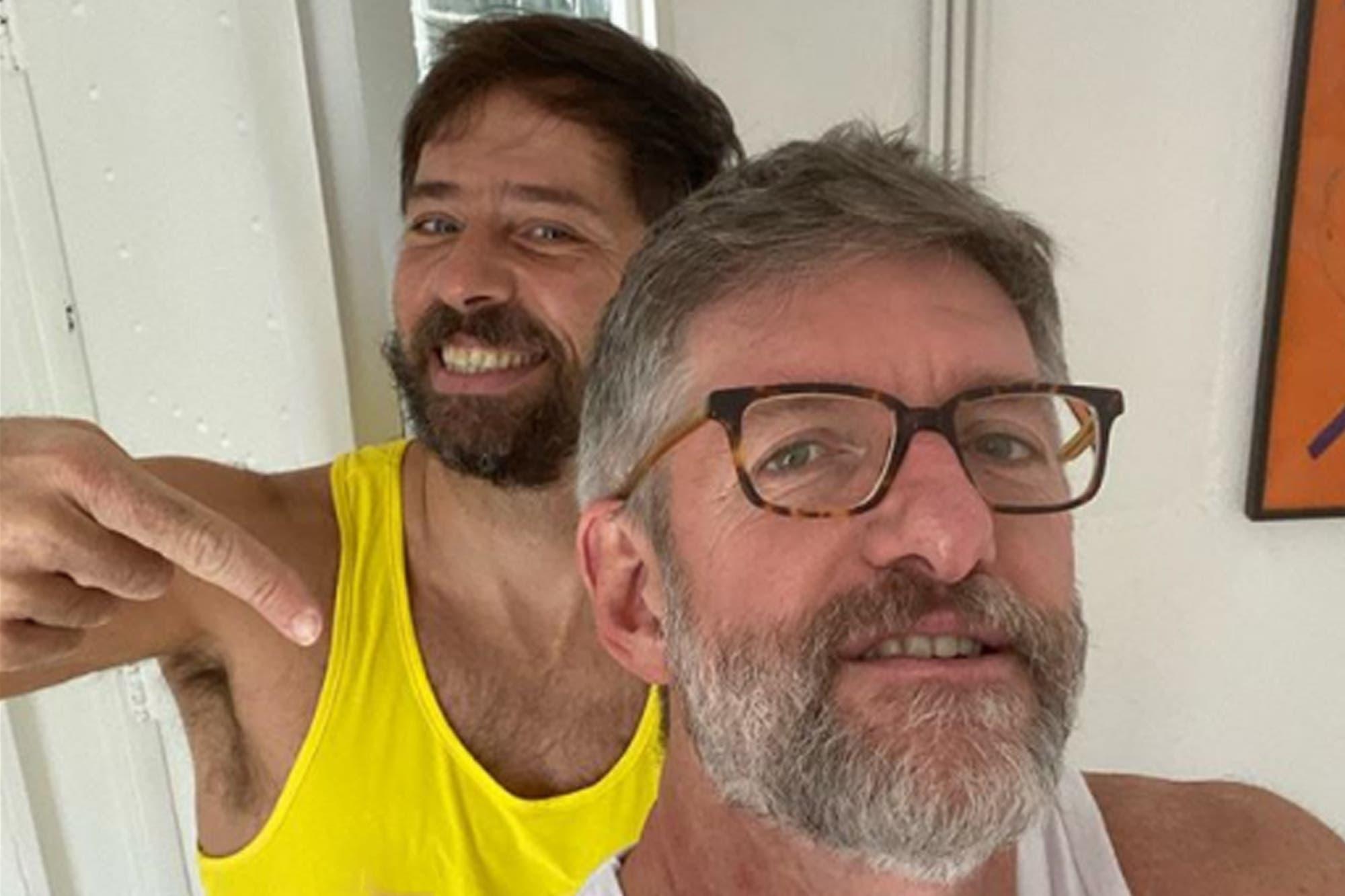 """Luis Novaresio contó cómo será su boda con Braulio Bauab: """"Nos va a casar una rabina"""""""