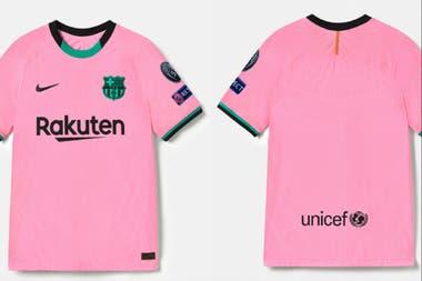 La nueva camiseta rosa: Barcelona la presentó como tercera equipación para 2020/21