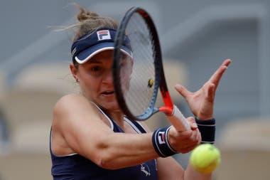 Nadia Podoroska busca dar otro gran golpe en la cita parisina