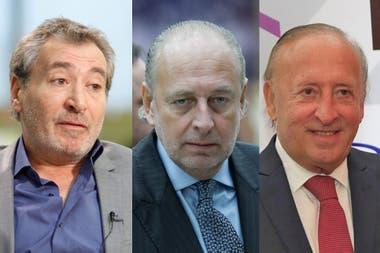 Daniel Vila, José Luis Manzano y Mauricio Filiberti, los compradores de Edenor