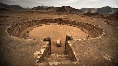 """La civilización de Caral tenía conocimientos """"impresionantes"""" en arquitectura, ingeniería, cultivos, y de manejo de energía."""