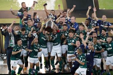En lo más alto de América: Palmeiras celebra la obtención de la Copa Libertadores