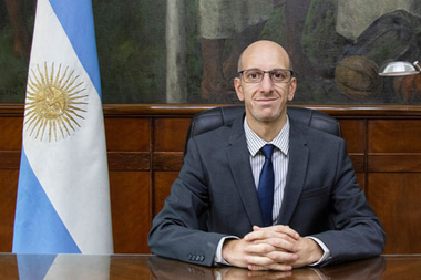 Mauricio Monsalvo, secretario de Gestión Administrativa del Ministerio de Salud nombrado por Ginés González García