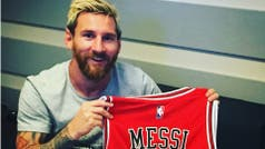 El regalo de Chicago Bulls para Lionel Messi