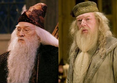 Richard Harris y Michael Gambon