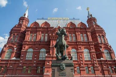 MOSCÚ SE PREPARA PARA EL MUNDIAL - LA NACION 5388bb0b12af3