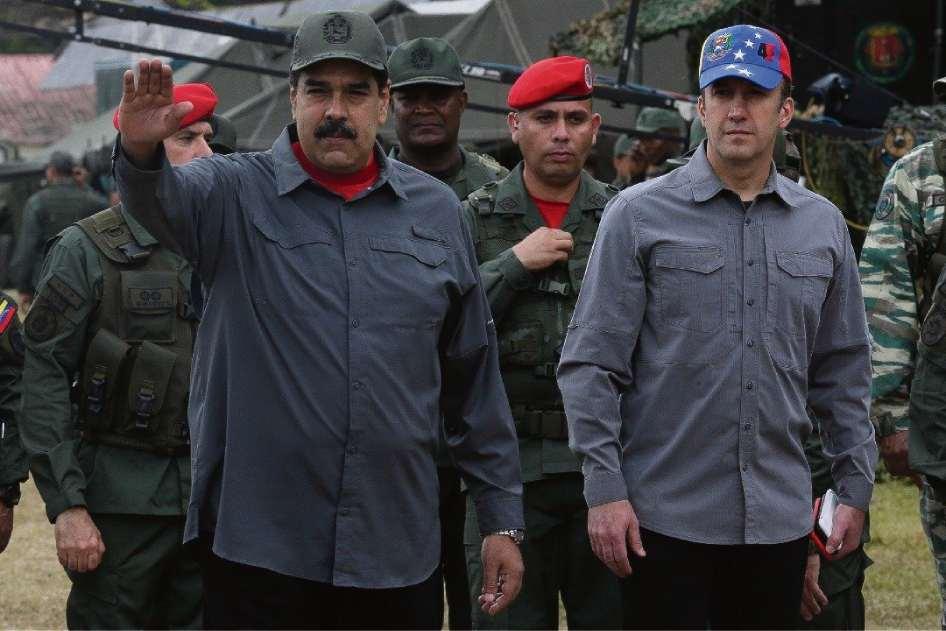 Maduro ordenó ejercicios militares el fin de semana pasado