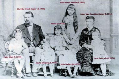 La familia Bagley en la Argentina