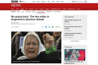 La cadena británica BBC