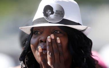 Miles de personas despidieron a la artista a lo largo de los tres días que duró su funeral