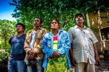 Saravia, Moreno, Zulema y Cano, en APCD