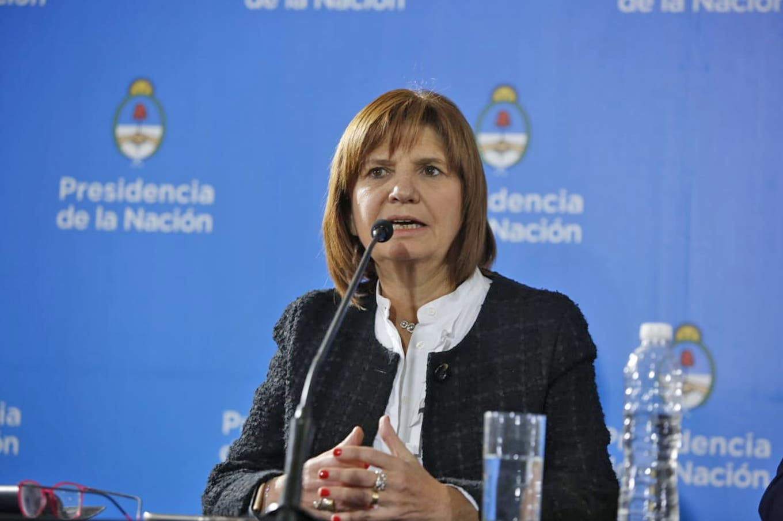"""Patricia Bullrich: """"Van a volver la inseguridad y el narcotráfico que andaban en la Argentina"""""""