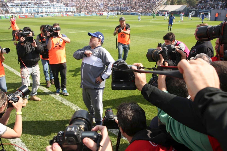 El video motivador de Maradona tras su primera semana en Gimnasia