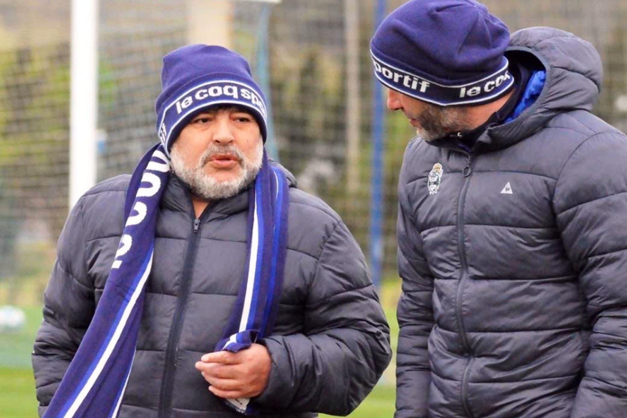 Maradona, en Gimnasia: las rachas que cortó y las tres metas que se puso para la previa del clásico ante Estudiantes