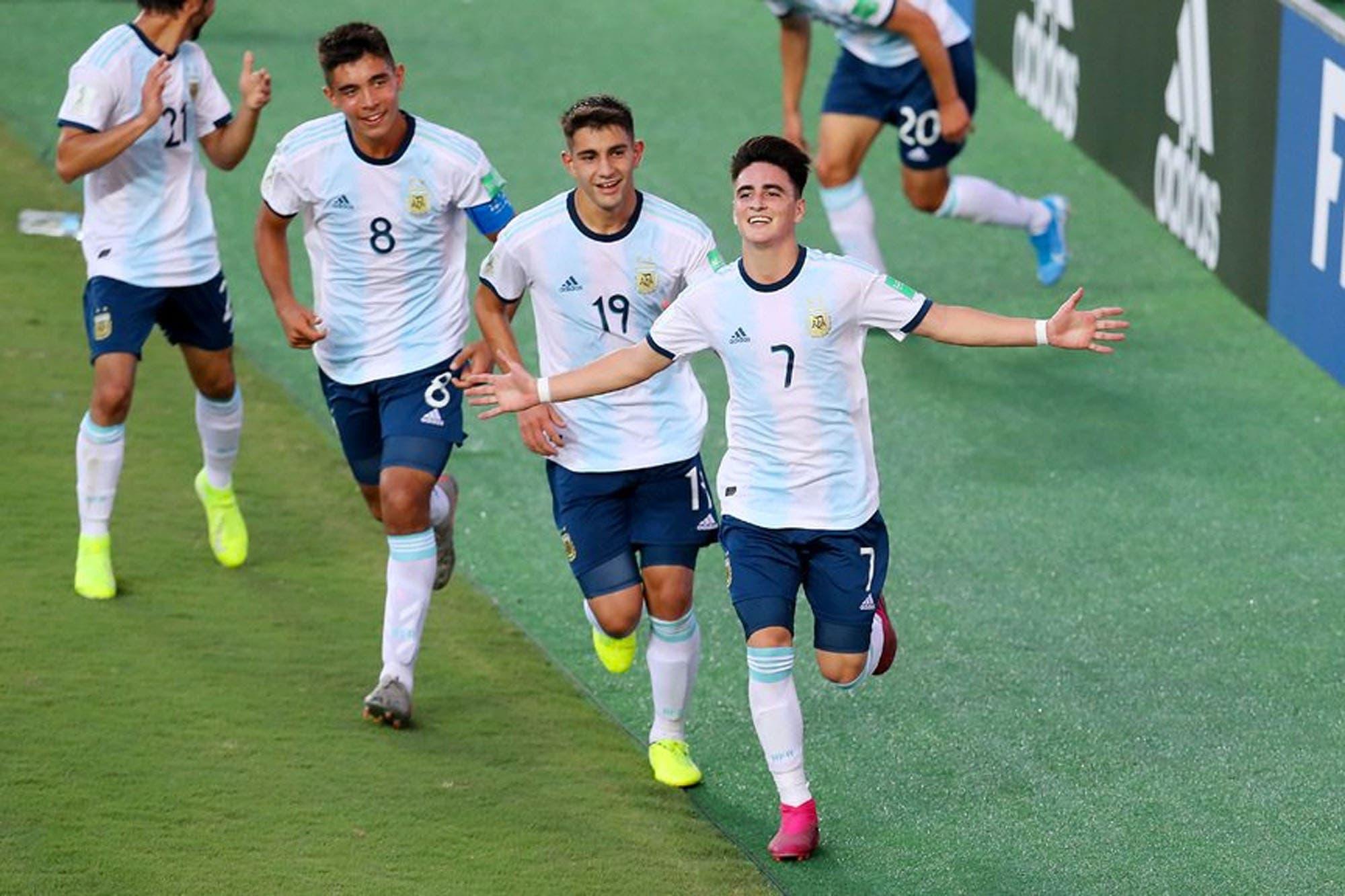 Mundial Sub 17: Argentina ganó de nuevo y espera rival en los octavos de final