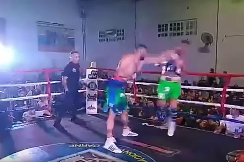 El boxeo no es tan fácil: el espectacular KO que sufrió Pablo Migliore