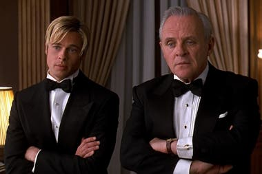 Pitt y Hopkins en ¿Conocés a Joe Black?
