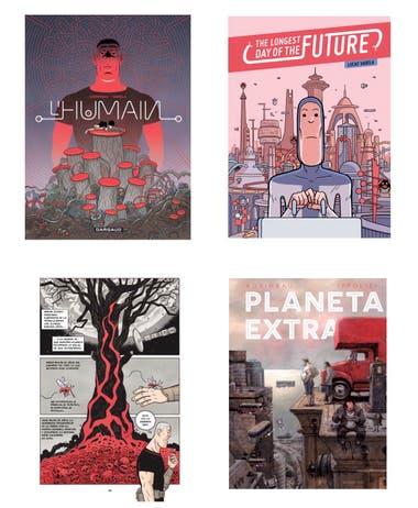 Obras ilustradas por Lucas Varela e Ippóliti con guión de Diego Agrimbau