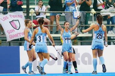 Las Leonas, uno de los equipos que siempre aspiran a una medalla olímpica.