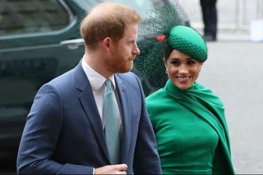 La imagen, de hace un par de meses atrás, forma parte del último evento en el que la pareja participó como miembros oficiales de la familia real.