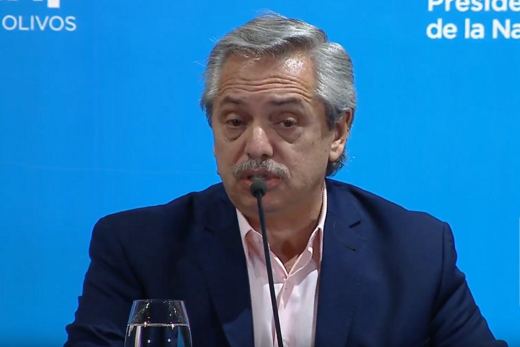 """Alberto Fernández, sobre el coronavirus: """"Hay que entender que no estamos dando 14 días de vacaciones"""""""