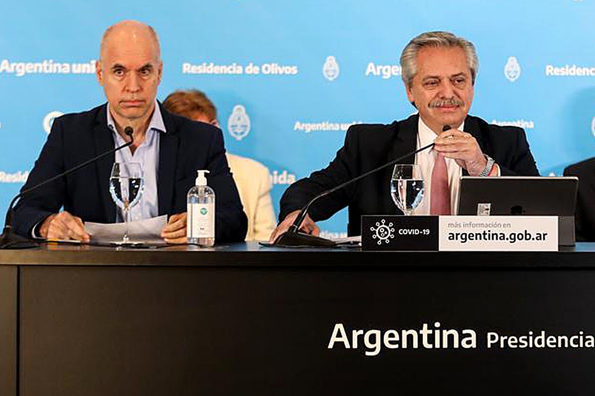 """Disputa por los fondos: """"Horacio Rodríguez Larreta debería ser más generoso"""", afirmó Alberto Fernández"""